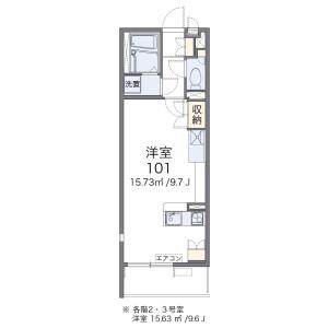 1R Mansion in Nihonzutsumi - Taito-ku Floorplan