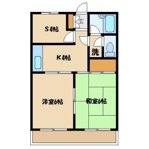 2SK Mansion in Nisshincho - Saitama-shi Kita-ku Floorplan