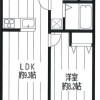 1SLDK Apartment to Rent in Shinjuku-ku Floorplan