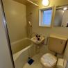 1K Serviced Apartment to Rent in Yokohama-shi Kohoku-ku Bathroom