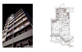 涩谷区代々木-1K公寓大厦