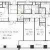 3LDK Apartment to Rent in Minato-ku Floorplan