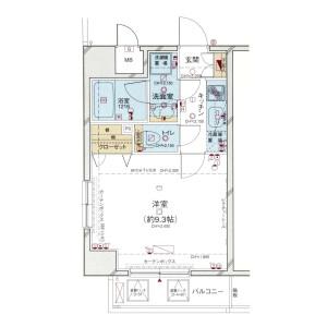 1DK Mansion in Higashiueno - Taito-ku Floorplan