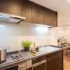 在澀谷區購買3LDK 公寓大廈的房產 廚房
