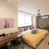 1R Serviced Apartment to Rent in Osaka-shi Fukushima-ku Bedroom