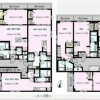 1R Apartment to Rent in Meguro-ku Layout Drawing