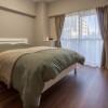 在涩谷区内租赁1DK 公寓大厦 的 卧室