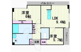 2LDK Apartment in Minamimagome - Ota-ku
