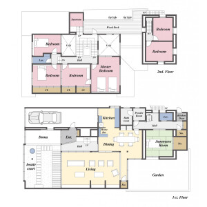 7LDK {building type} in Shimmachi - Hikone-shi Floorplan