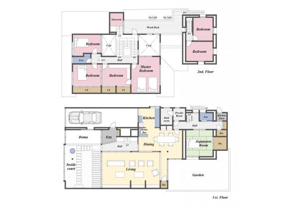 7LDK Hotel/Ryokan to Buy in Hikone-shi Floorplan