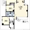 3LDK Apartment to Rent in Nagoya-shi Chikusa-ku Floorplan