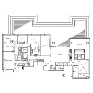 5LDK Apartment in Akasaka - Minato-ku Floorplan
