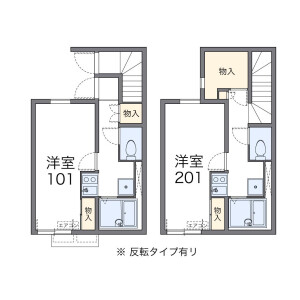 1K Apartment in Kamisaginomiya - Nakano-ku Floorplan