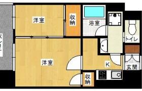 2K {building type} in Watanabedori - Fukuoka-shi Chuo-ku