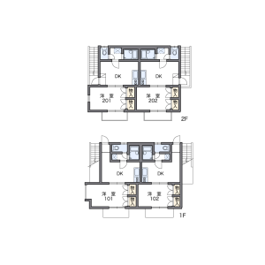 1DK Apartment in Shimoishiwara - Chofu-shi Floorplan