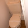 在东村山市内租赁1K 公寓 的 厕所