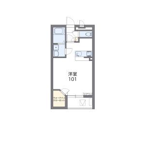 1K Mansion in Oyake nakakojicho - Kyoto-shi Yamashina-ku Floorplan