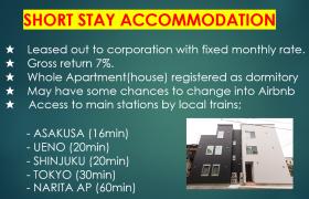 Whole Building Apartment in Yotsugi - Katsushika-ku