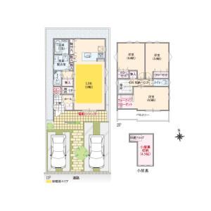 3LDK House in Nishinogawa - Komae-shi Floorplan