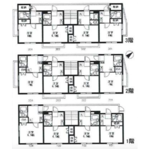 Whole Building Apartment in Sakaecho - Higashimurayama-shi Floorplan