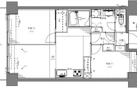 港区芝浦(2〜4丁目)-3DK公寓大厦