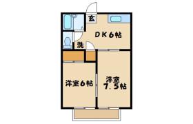 2DK Apartment in Nishibori - Saitama-shi Sakura-ku