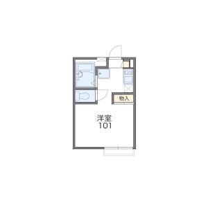 1K Mansion in Arima - Kawasaki-shi Miyamae-ku Floorplan