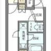 1DK Apartment to Rent in Kita-ku Floorplan