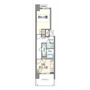 1DK Mansion in Oji - Kita-ku Floorplan