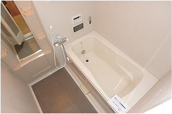2LDK Terrace house to Rent in Nagoya-shi Higashi-ku Bathroom