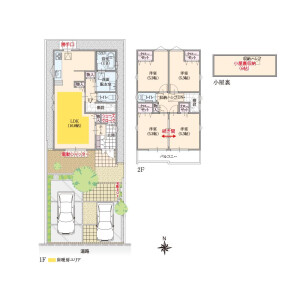4LDK House in Fujimicho - Chofu-shi Floorplan