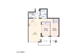 2LDK Apartment in Kita26-johigashi - Sapporo-shi Higashi-ku
