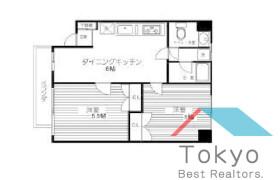 新宿区 西早稲田(2丁目1番1〜23号、2番) 2DK マンション