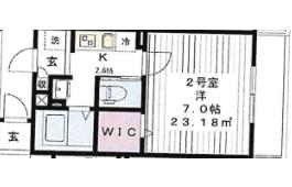 柏市東-1K公寓