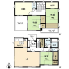 4LDK House to Rent in Kamakura-shi Floorplan