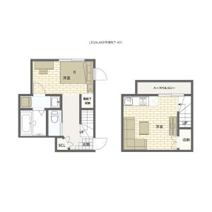 1LDK Mansion in Takada - Toshima-ku Floorplan