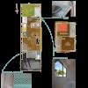 2LDK House to Buy in Kyoto-shi Ukyo-ku Floorplan