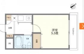 1K {building type} in Ookayama - Meguro-ku