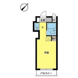 1R Mansion in Takasago - Katsushika-ku Floorplan