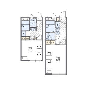 1K Apartment in Takinogawa - Kita-ku Floorplan