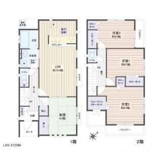 4LDK House in Aramakihonzawa - Sendai-shi Aoba-ku Floorplan