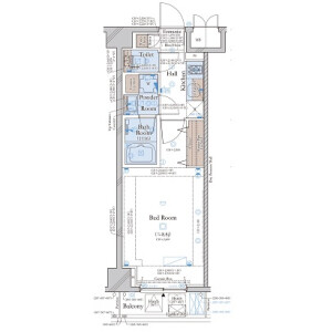 1K Mansion in Meguro - Meguro-ku Floorplan