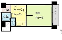 1DK {building type} in Okano - Yokohama-shi Nishi-ku