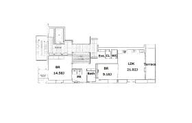 大阪市西区 南堀江 2LDK アパート