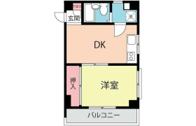 1DK Mansion in Kikuicho - Shinjuku-ku