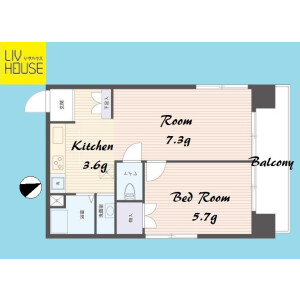 2K {building type} in Todoroki - Setagaya-ku Floorplan