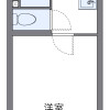 1K Apartment to Rent in Osaka-shi Nishinari-ku Floorplan