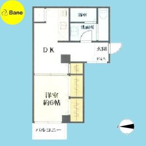 1DK {building type} in Ogikubo - Suginami-ku Floorplan