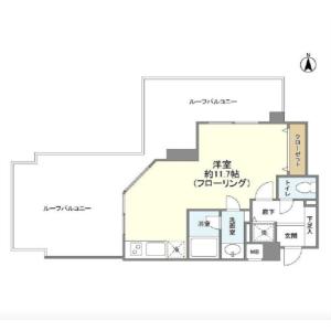1R Mansion in Mishuku - Setagaya-ku Floorplan
