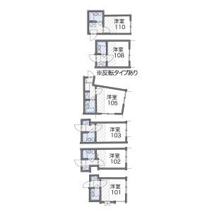 1R Apartment in Minamidai - Nakano-ku Floorplan